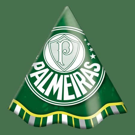 Chapéu de Aniversário Palmeiras - 08 unidades- Festcolor - Lojas Brilhante ec5d34b34ec