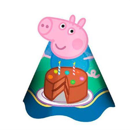 chapeu-de-aniversario-george-pig-lojas-brilhante