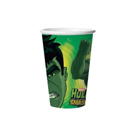 copo-de-papel-descartavel-hulk-lojas-brilhante