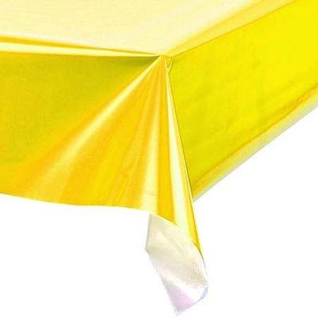 toalha-plastica-perolada-lisa-amarela-lojas-brilhante