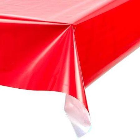 toalha-plastica-perolada-lisa-vermelha-lojas-brilhante