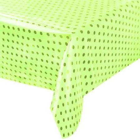 toalha-plastica-perolada-poa-verde-preto-lojas-brilhante