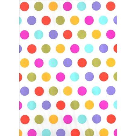 toalha-plastica-perolada-poa-colorido-lojas-brilhante