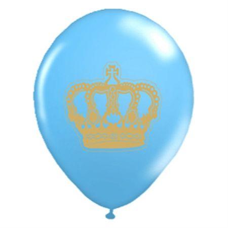 balao-latex-n10-coroa-azul-dourado-lojas-brilhante
