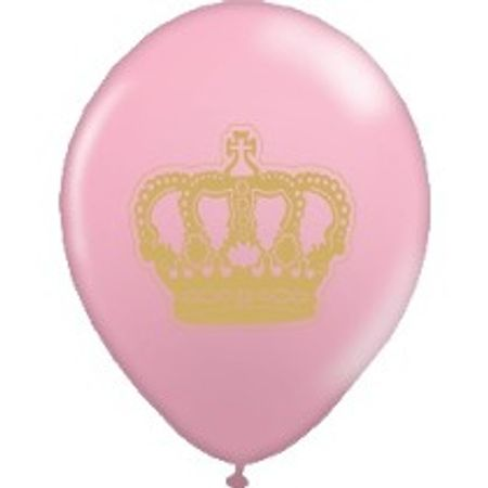 balao-latex-n10-coroa-rosa-dourado-lojas-brilhante