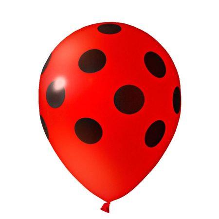 balao-latex-n10-vermelho-poa-preto-lojas-brilhante