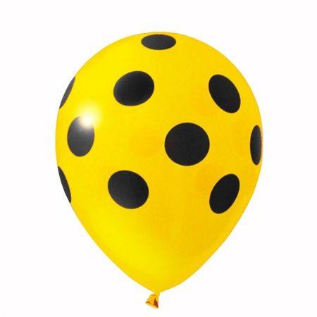 balao-latex-n10-amarelo-poa-preto-lojas-brilhante