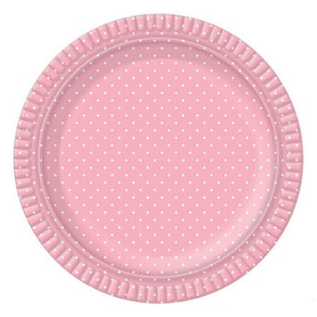 bandeja-redonda-ultrafest-rosa-poa-branco-lojas-brilhante