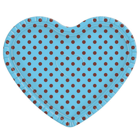 bandeja-coracao-ultrafest-azul-poa-marrom-lojas-brilhante