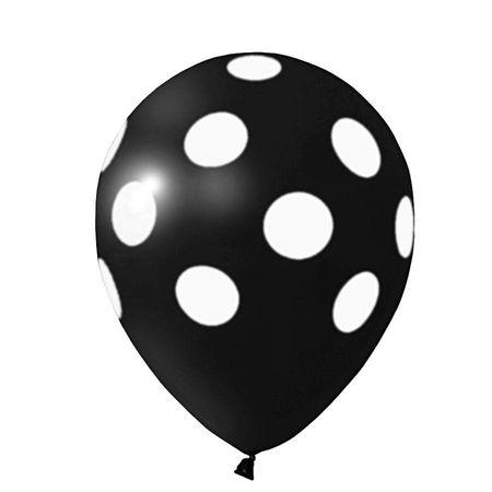 balao-latex-n10-preto-poa-branco-lojas-brilhante