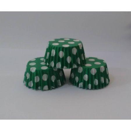forminha-para-cupcake-verde-escuro-poa-branco