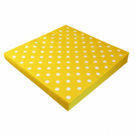 guardanapo-de-papel-amarelo-poa-branco-lojas-brilhante