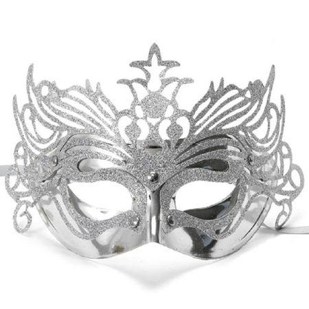 mascara-veneziana-prata-lojas-brilhante