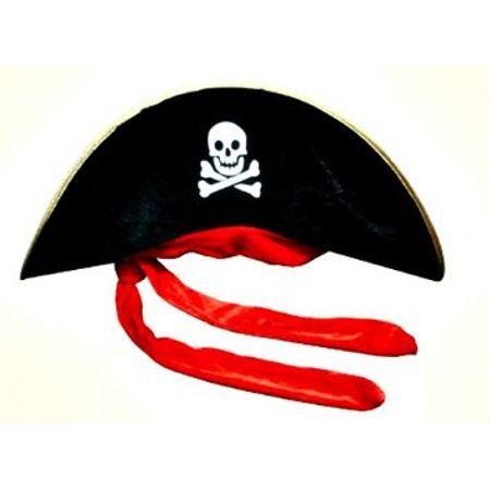 Chapéu Pirata Veludo - Unidade - Lojas Brilhante 0e38ec40107