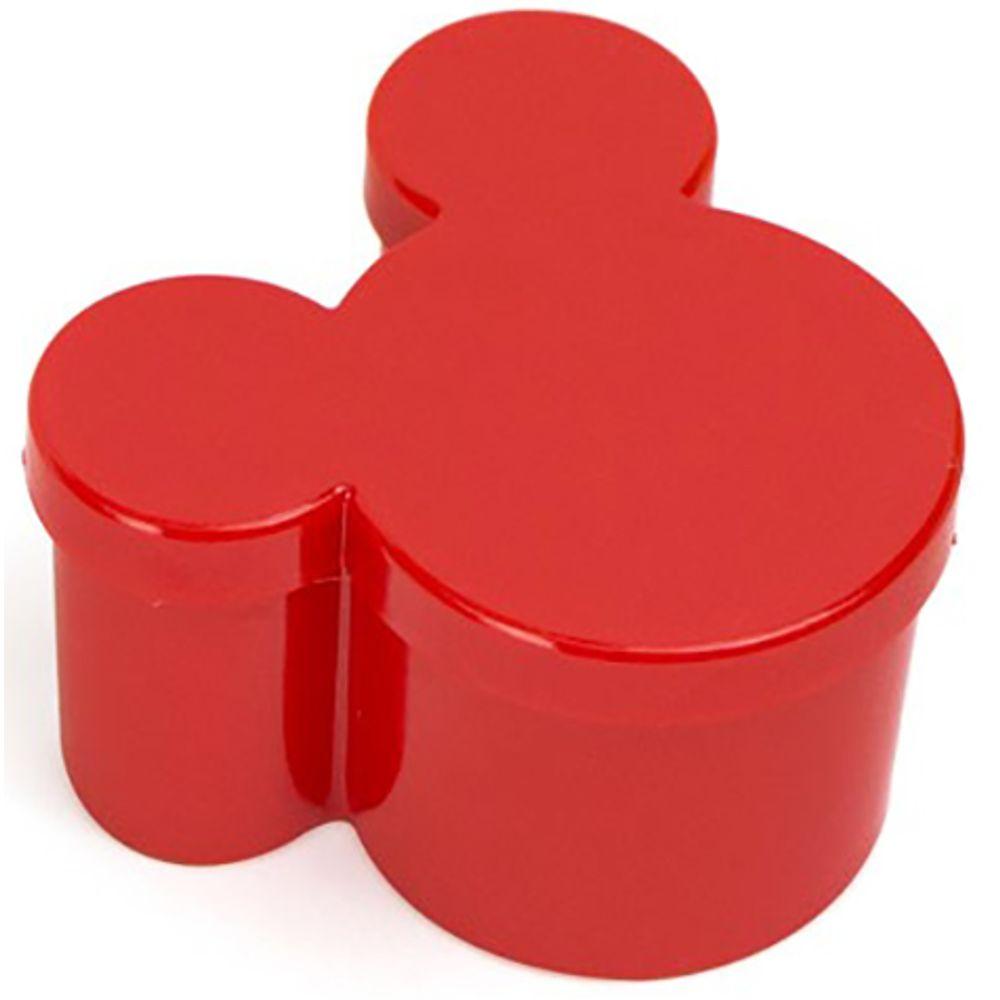 Caixinha Acrilica Mickey Minnie Vermelha 10 Unidades Lojas
