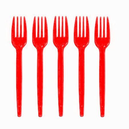 garfo-sobremesa-vermelho-descartavel-prafesta