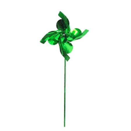 cataventos-metalizados-verdes-lojas-brilhante
