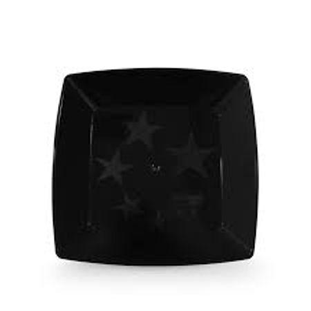 prato-acrilico-quadrado-preto-16cm-lojas-brilhante