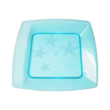 prato-acrilico-quadrado-azul-16cm-lojas-brilhante