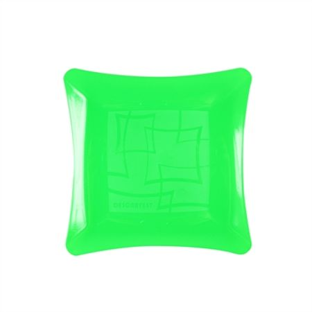 prato-acrilico-quadrado-verde-neon-16cm-lojas-brilhante