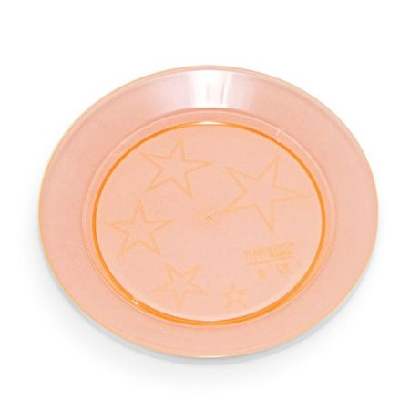 prato-acrilico-redondo-laranja-15cm-lojas-brilhante