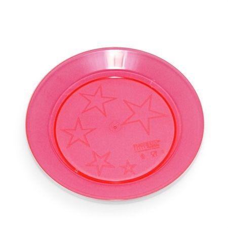 prato-acrilico-redondo-vermelho-15cm-lojas-brilhante