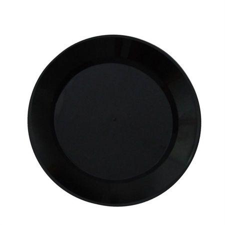 prato-acrilico-redondo-preto-15cm-lojas-brilhante