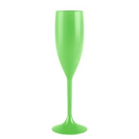 taca-champagne-140ml-verde-neon-lojas-brilhante
