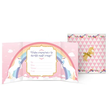 convite-unicornio-lojas-brilhante
