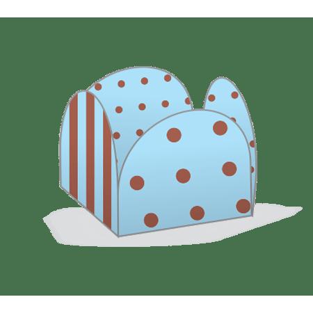 porta-forminha-azul-poa-marrom-lojas-brilhante