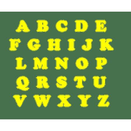 letras-amarelas-eva-lojas-brilhante