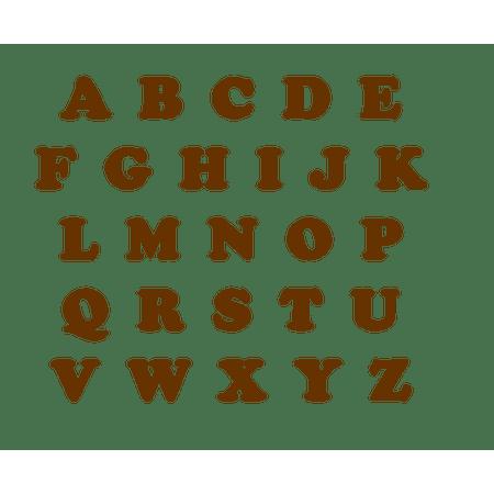 letras-marrons-eva-lojas-brilhante