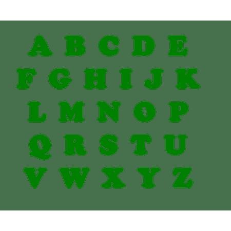 letras-verde-bandeira-eva-lojas-brilhante