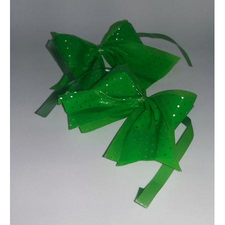 laco-pequeno-verde-claro-lojas-brilhante