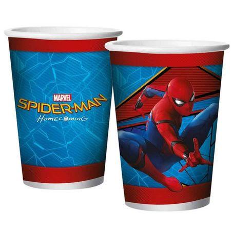 copo-de-papel-descartavel-homem-aranha-de-volta-ao-lar-lojas-brilhante