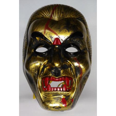mascara-samurai-dourada-lojas-brilhante