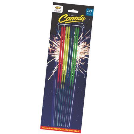 vela-cometa-neon-lojas-brilhante