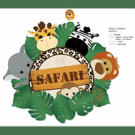 painel-4-laminas-gigante-safari-lojas-brilhante