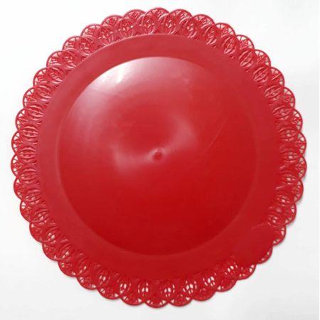 bandeja-rendada-redonda-vermelha-lojas-brilhante