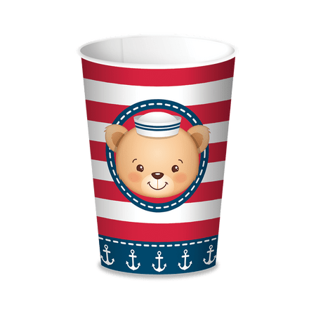 copo-papel-descartavel-ursinho-marinheiro-festcolor-lojas-brilhante