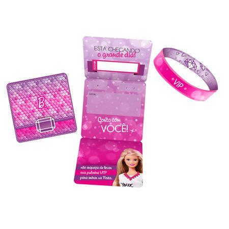 convite-de-aniversario-barbie-diamante-lojas-brilhante
