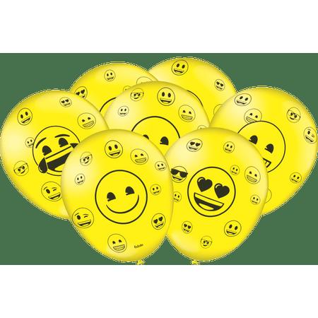 balao-de-latex-emoji-festcolor-25-unidades