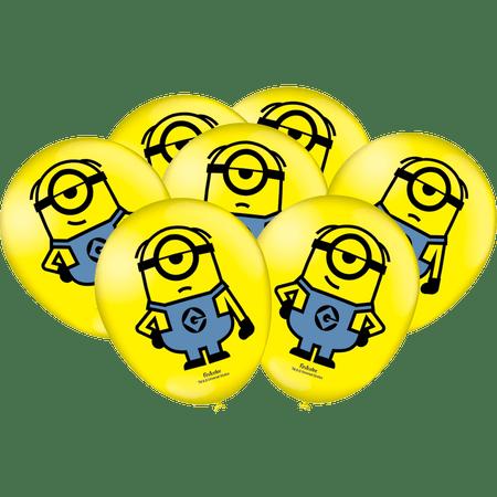 balao-de-latex-minions-festcolor-25-unidades