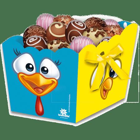 cachepot-galinha-pintadinha-festcolor-8-unidades