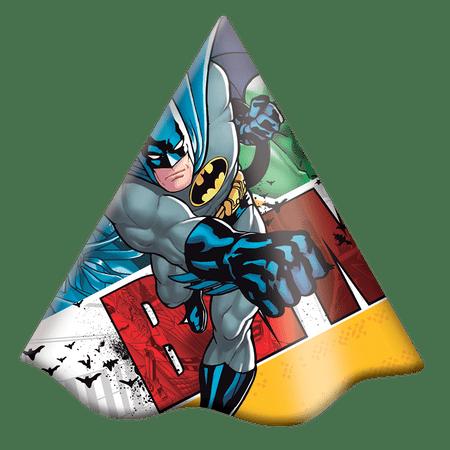 chapeu-de-aniversario-batman-festcolor-8-unidades