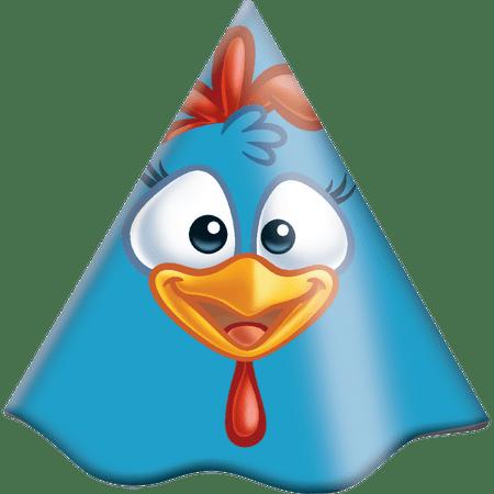 chapeu-de-aniversario-galinha-pintadinha-festcolor-8-unidades