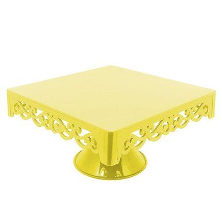bandeja-provencal-amarela-com-pe-lojas-brilhante