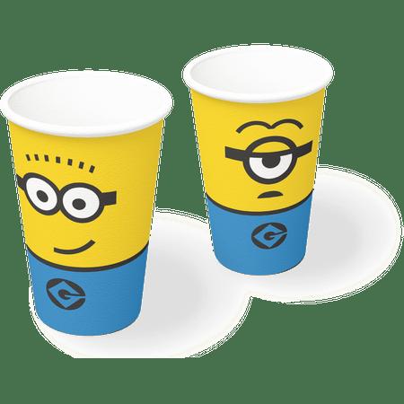 copo-de-papel-descartavel-minions-festcolor-8-unidades