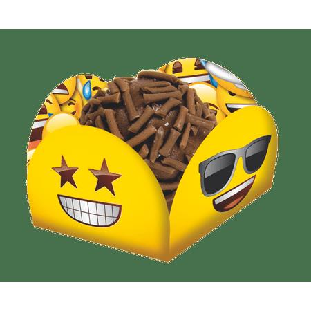 porta-forminha-para-doces-emoji-festcolor-40-unidades