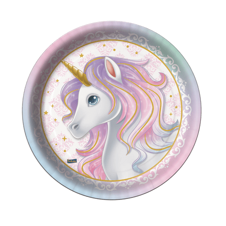 prato-descartavel-unicornio-8-unidades-festcolor